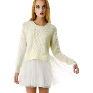 UNIF Nasty Gal Chloe Sweater Dress RARE